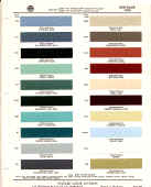 american motors paint chips sample colors