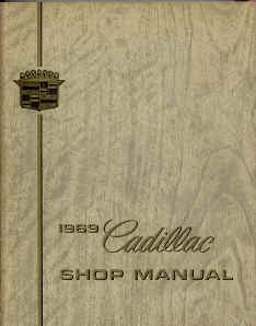 cadillac shop service repair manual