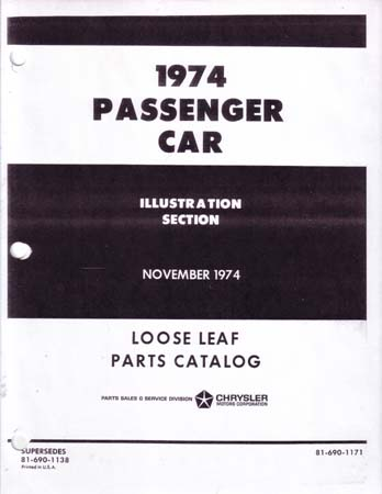 dodge car parts book