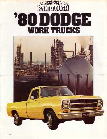 dodge truck dealer sales brochure