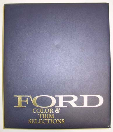 ford car databook