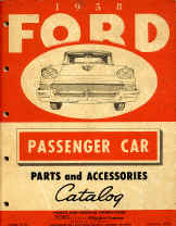ford car parts book numbers interchange