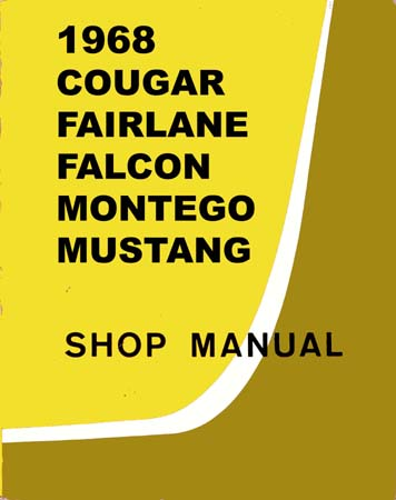 ford car shop manual