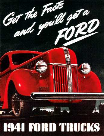 ford truck dealer sales brochure