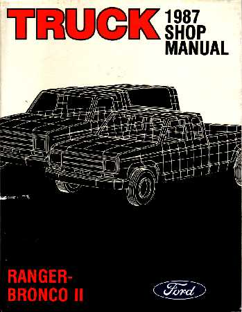 ford truck shop service repair manual