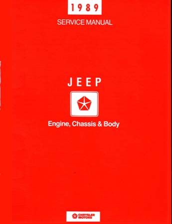 jeep shop manual