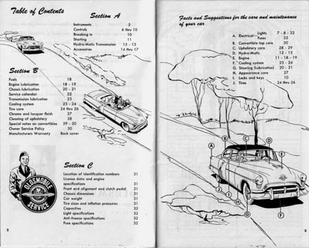 oldsmobile owners manual