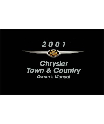 2001 chrysler town country owners manual eb10205r rh autobooksbishko com 2001 chrysler town and country manual pdf 2001 chrysler town and country factory service manual pdf