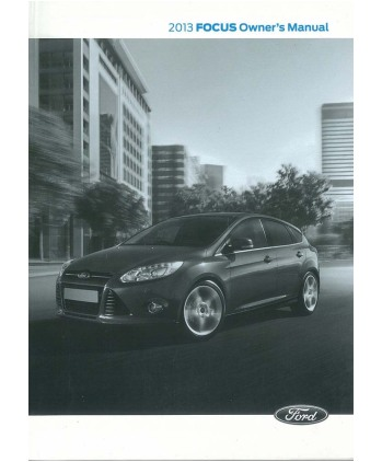 2013 Ford Focus Owners Manual Eb11538nn