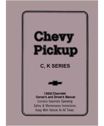 chevrolet owner manual