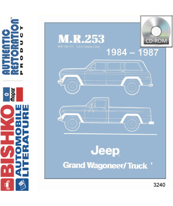 jeep grand wagoneer vacuum diagram 87 jeep grand wagoneer wiring diagram 1984-87 jeep grand wagoneer & truck body, chassis ... #10