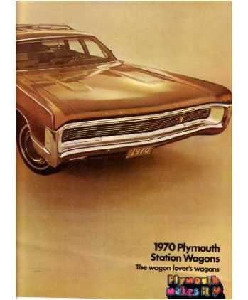 Acura Station Wagon on 1970 Plymouth Station Wagon Sales Brochure