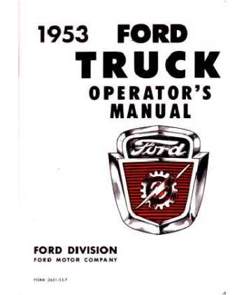 Contents contributed and discussions participated by marcus bunch ford truck owners manuals free fandeluxe Images