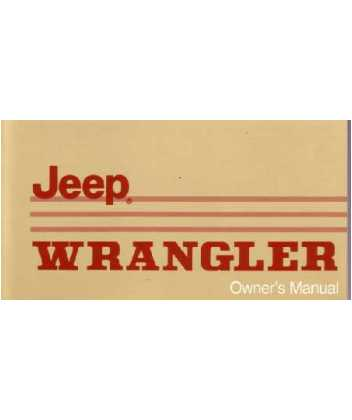 1988 jeep wrangler owners manual rh autobooksbishko com 1998 jeep wrangler owners manual 1998 jeep wrangler owners manual download