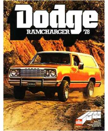 on 1999 Dodge Ramcharger
