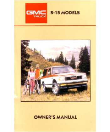owner manual 97 jimmy daily instruction manual guides u2022 rh testingwordpress co 2001 GMC Jimmy 1986 GMC Jimmy