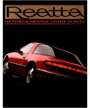 1988 buick reatta sales brochure 1973 plymouth wiring diagrams