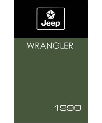 1990 jeep wrangler owners manual rh autobooksbishko com Lifted Jeep Wrangler YJ 1990 Jeep YJ Lifted