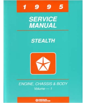 1995 dodge stealth body chassis electrical service manual rh autobooksbishko com 2016 Dodge Stealth dodge stealth service manual pdf
