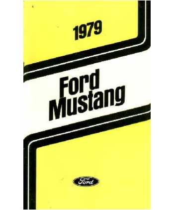 ford mustang owners manual
