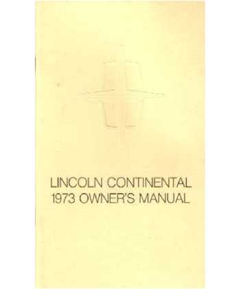 1973 lincoln continental owners manual rh autobooksbishko com 2000 lincoln continental owners manual 2001 lincoln continental owners manual