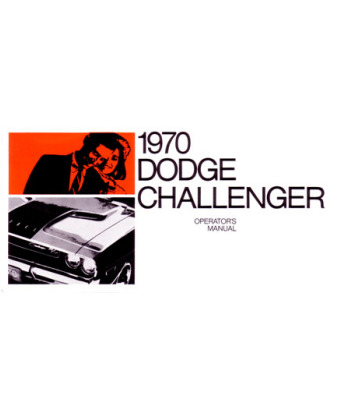 Dodge challenger owners manual 1970 dodge challenger owners manual publicscrutiny Gallery