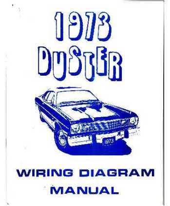 plymouth duster wiring diagrams,