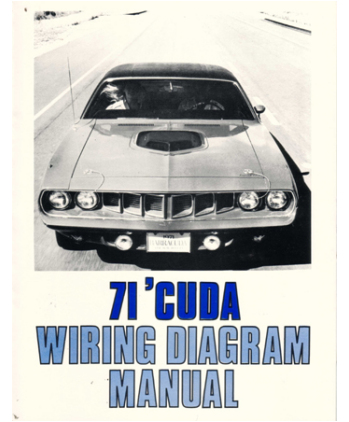 1971 plymouth barracuda wiring diagrams