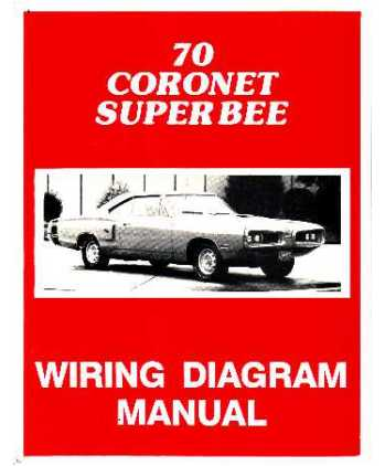 1970 dodge coronet super bee wiring diagrams rh autobooksbishko com 350 Chevy Engine Wiring Diagram Basic Engine Wiring Diagram