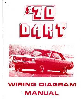 1970 dodge dart wiring diagrams