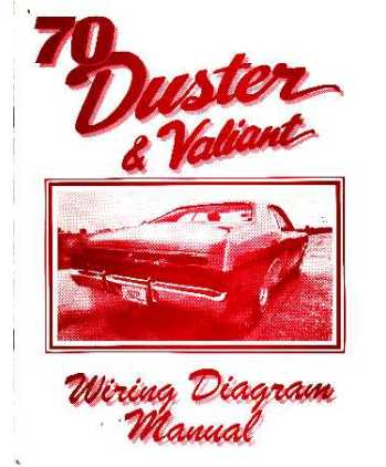 1970 plymouth duster valiant wiring diagrams. Black Bedroom Furniture Sets. Home Design Ideas