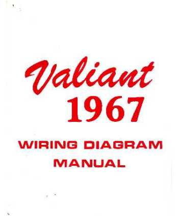1967 plymouth valiant wiring diagrams. Black Bedroom Furniture Sets. Home Design Ideas
