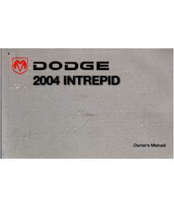 2004 dodge intrepid owners manual 2004 dodge intrepid owners manual 2004 dodge intrepid owners manual free download