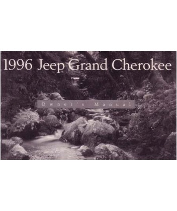 1996 JEEP GRAND CHEROKEE Owners Manual