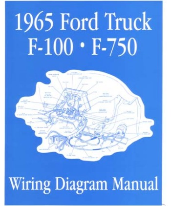 1965 ford f 100 to f 750 truck wiring diagrams. Black Bedroom Furniture Sets. Home Design Ideas