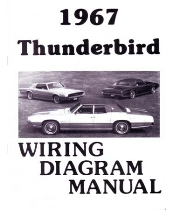 1967 FORD THUNDERBIRD Wiring Diagrams