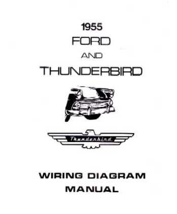1955 FORD Full Line Wiring Diagrams
