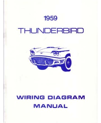 1959 ford thunderbird wiring diagrams. Black Bedroom Furniture Sets. Home Design Ideas