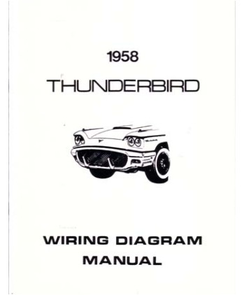 1958 ford thunderbird wiring diagrams. Black Bedroom Furniture Sets. Home Design Ideas