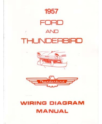 1957 ford full line wiring diagrams