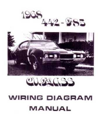 1968 oldsmobile 442 cutlass f 85 wiring diagrams. Black Bedroom Furniture Sets. Home Design Ideas