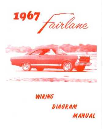 1967 FORD FAIRLANE Wiring Diagrams