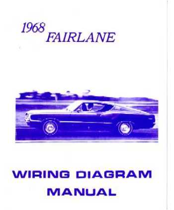 1968 FORD FAIRLANE Wiring Diagrams