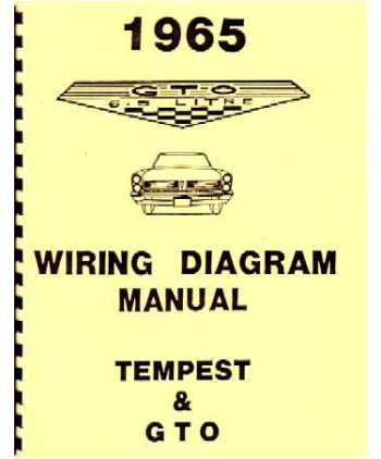 1965 pontiac gto tempest wiring diagrams. Black Bedroom Furniture Sets. Home Design Ideas