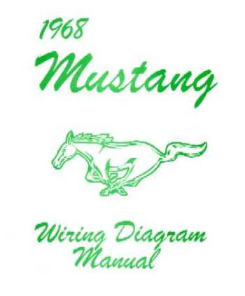 1968 ford mustang wiring diagrams. Black Bedroom Furniture Sets. Home Design Ideas