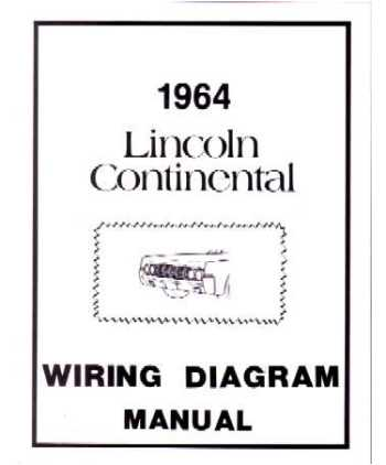 1964 lincoln continental wiring diagrams