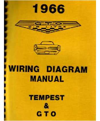 1966 pontiac gto tempest wiring diagrams. Black Bedroom Furniture Sets. Home Design Ideas