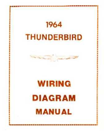 1964 ford thunderbird wiring diagrams. Black Bedroom Furniture Sets. Home Design Ideas