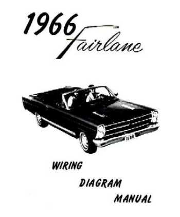 1966 ford fairlane wiring diagrams