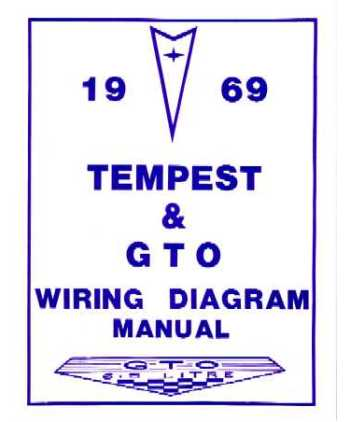 1969 pontiac gto tempest wiring diagrams. Black Bedroom Furniture Sets. Home Design Ideas